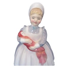Royal Doulton HN2142 Porcelain Figurine THE RAG DOLL