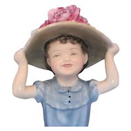 Royal Doulton HN2225 Porcelain Figurine MAKE BELIEVE GIRL