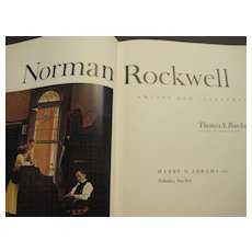 1970 NORMAN ROCKWELL, Artist and Illustrator book by Thomas S. Buechner