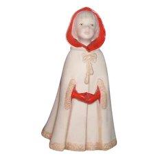 Cybis Porcelain Figurine Little Red Riding Hood