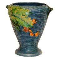 """Roseville Pottery Bushberry Vase 4"""""""