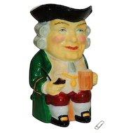 Vintage Radnor Bone China Longton England Toby Character Mug