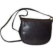 Susan Gail Vintage Patterned Leather Shoulder Bag Purse