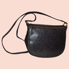 Susan Gail Vintage Patterned Leather Shoulder Bag Purse