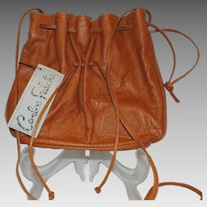 Vintage Carlos Falchi THE BUFFALO BAG Purse Handbag With Tags
