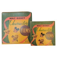 Vintage  Walt Disney Character Films Cartoon Movies  Set of 2 Cartoons