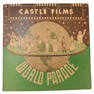 Vintage 8mm Castle Films Movie World Parade #234 America's Wonderland