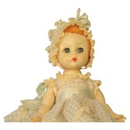 Madame Alexander LITTLE GENIUS Baby Doll 1950's