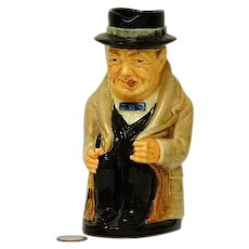 "Royal Doulton Winston Churchill 5"" Toby Character Mug - Red Tag Sale Item"