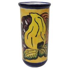 Mexico Talavera Pottery Vase