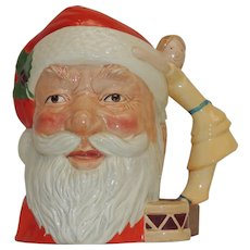 Royal Doulton Santa Claus Character Mug #D6668 Mint Condition 1981  Doll Handle