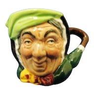 Royal Doulton Sairey Gamp Miniature Character Mug D6045