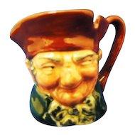 Royal Doulton Miniature Character Toby Mug Old Charlie D6046