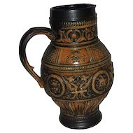 GERZ  W. Germany Tankard Style Pitcher