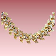 Vintage Goldtone/Rhinestone Necklace