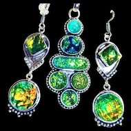 Dichroic Glass Set