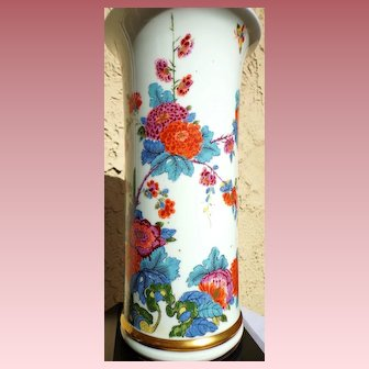 A  Reproduction of a Lenox Saxony Vase in the Smithsonian Institute