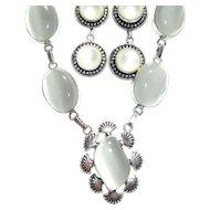 Opalite Necklace/Earring Set