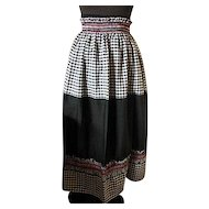 Vintage Long Length Waist Tied Apron