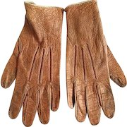 Child's Small Leather Gloves
