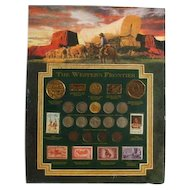 The Western Frontier Coin & Stamp Plus Re-Creation of Five Gold Pieces