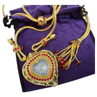 Elizabeth Taylor for Avon - Shah Jehan Necklace - Vintage 1993 Mint in Box