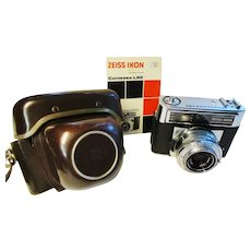ZEISS IKON Contessa LBE 35mm Camera - Tessar f/2.8/50 mm - Vintage 1965
