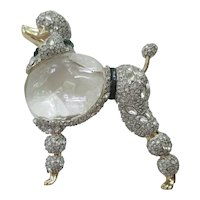 Alexis Bittar Lucite - Jelly Belly Poodle Pin