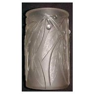 Rene Lalique art  Deco vase, Laurier ca. 1925 signed