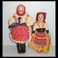 Cloth Tourist Dolls