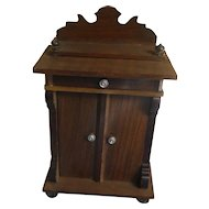 Antique German Schneegas Dollhouse Cabinet
