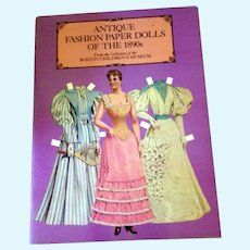 Antique Fashion Paper Dolls of the 1890's