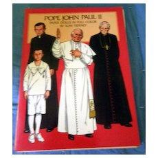 Pope John Paul ll Paper Doll Book