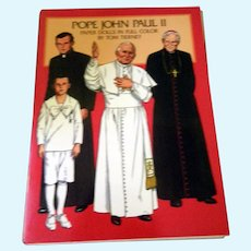 Pope John Paul ll Paper Doll Book