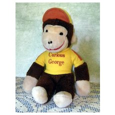 Curious George Plush. Nice, Clean example.