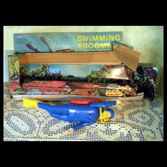 1970's Swimming Frogman