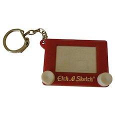 Etch-A-Sketch Key Chain