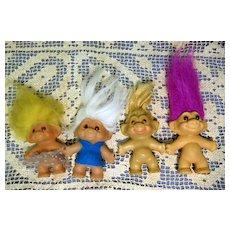 Troll Dolls, DAM, Uneeda, etc