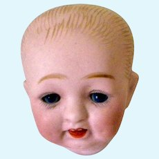 Small German Bisque Baby Head