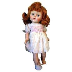 Pretty Red Head Strung Ginny Doll