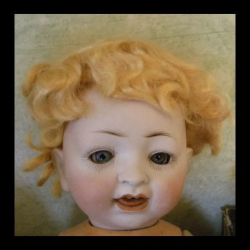 Blonde Mohair Baby or Boy Wig size 7