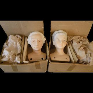 George and Martha Washington Doll Kits from Yield House NIB