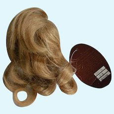 Size 7 Golden Blonde Human Hair Wig