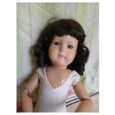 "19"" Schoenhut Miss Dolly with Rare Sleep Eyes"