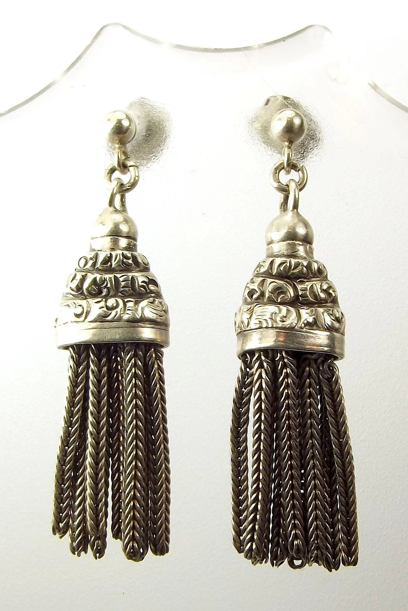 gold victorian earrings k caymancode filigree antique
