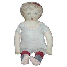 "18""  Art Fabric Mills Cloth Doll"