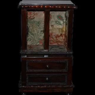 All Original Doll Cabinet - circa 1830