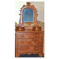 Victorian Child's Sponge Finish Dresser, c. 1870