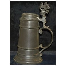 German 1L Pewter Stein