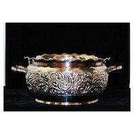 Pairpoint Two Handled Holloware Bowl